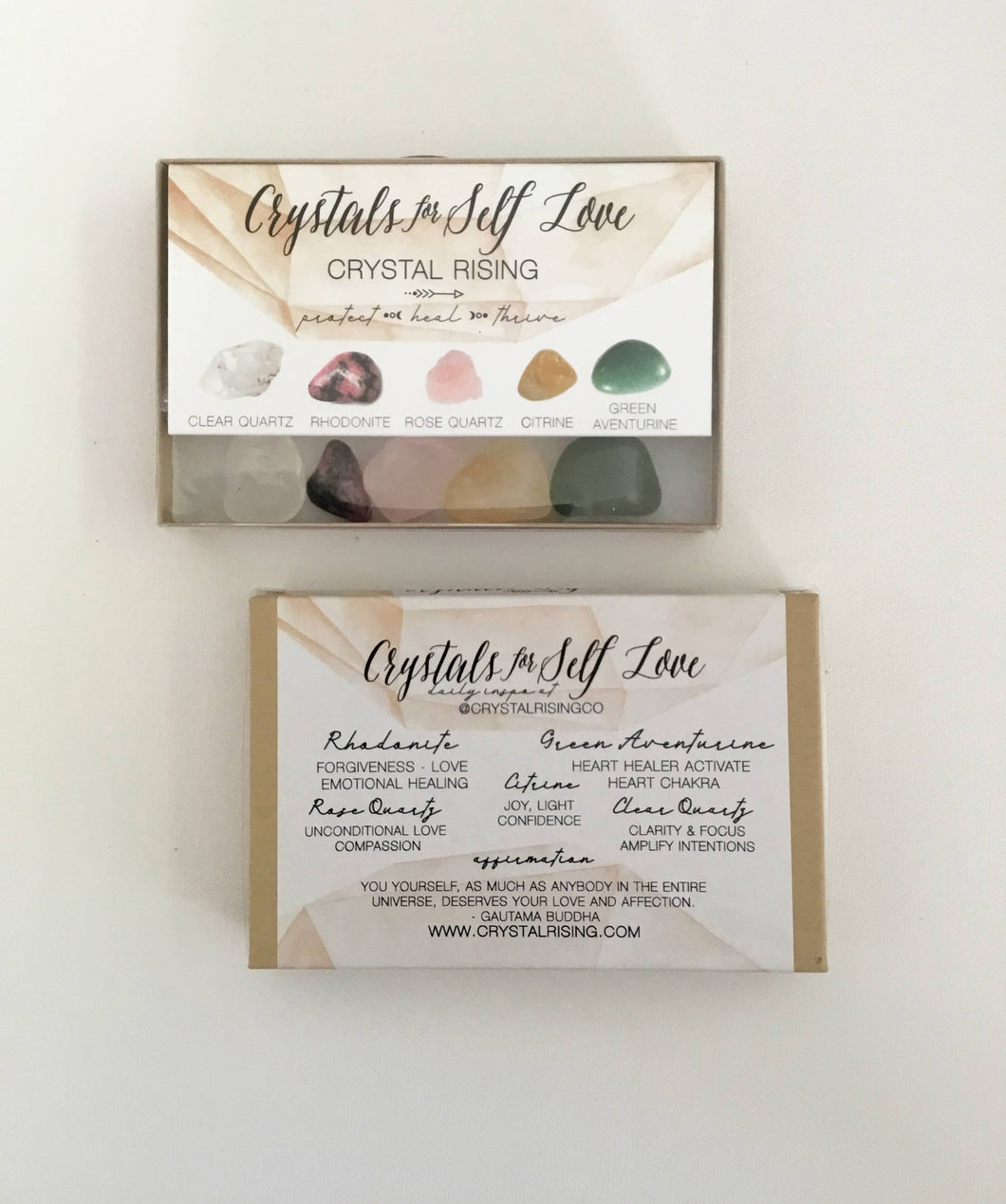 Crystal Rising - Crystals For Self Love Box Set