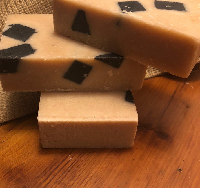 Dead Sea Mud Scrub Bar Soap