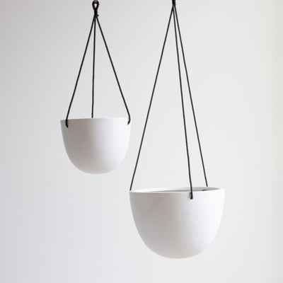Grace Hanging Pot White