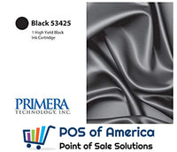 Primera Black Ink Cartridge, High-Yield 53425 - POS OF AMERICA