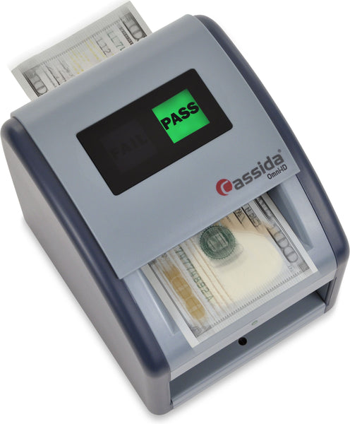 Cassida Omni-ID Counterfeit Detector with UV Identification Verification Lights - POS OF AMERICA