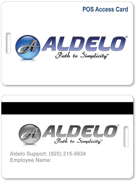 Aldelo POS Access Cards pack of 10 - POS OF AMERICA