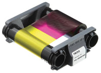 CBGR0100C	EVOLIS BADGY, YMCKO COLOR RIBBON FOR 100 PRINTS FOR BADGY 200 AND BADGY 100 - POS OF AMERICA
