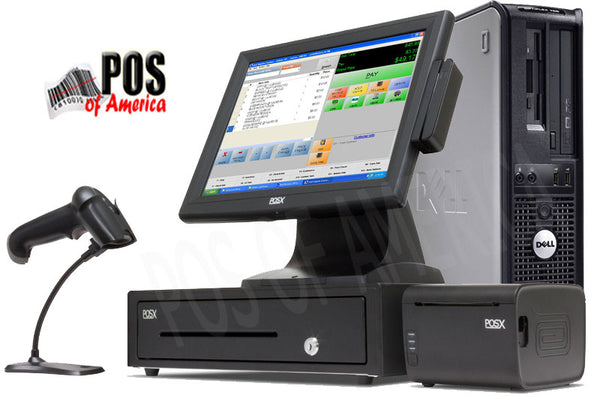 pcAmerica CRE PRO POS POS Value Touch System - 1 Station - POS OF AMERICA