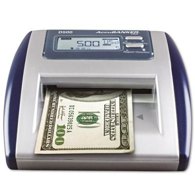 Accubanker D500 Super Dollar Authenticator 110v - POS OF AMERICA