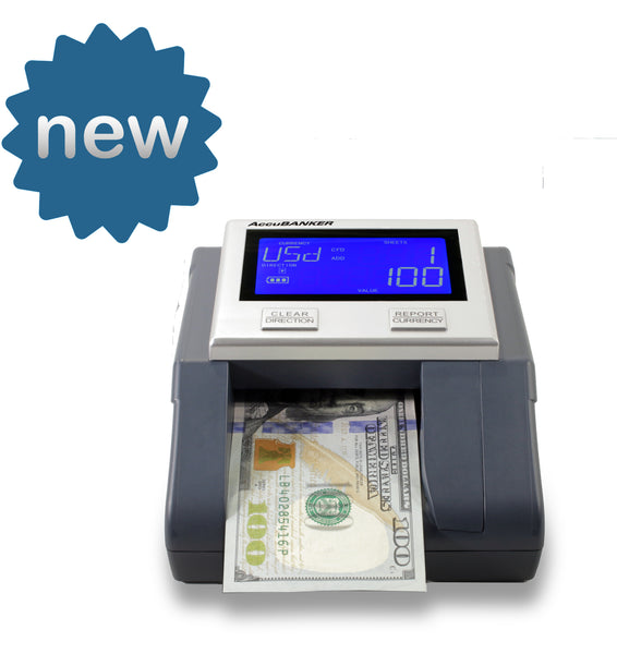 Accubanker D585 Multi-Scanix Counterfeit Detector - POS OF AMERICA
