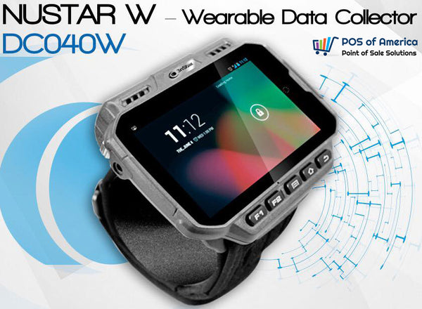 3nStar Nustar W – Wearable Data Collector (DC040W) - POS OF AMERICA