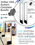 3nStar EAS RF Dual Antenna (with DSP) Complete Bundle - POS OF AMERICA