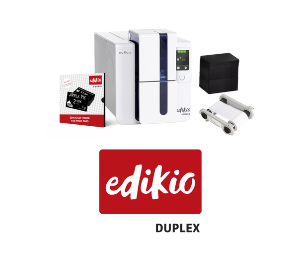 EDIKIO DUPLEX - PRICE TAG SOLUTION Complete Starter Bundle - POS OF AMERICA