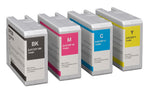 Epson Colorworks Consumables (Black, Yellow, Magenta, Cyan) Kit for TM-C6000 and TM-C6500 - POS OF AMERICA