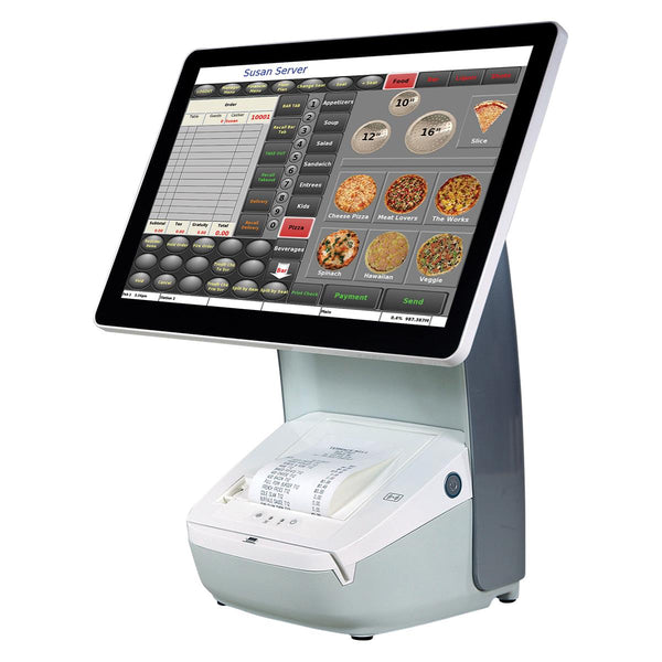 Hisense HK-718 Integrated POS Terminal - Windows IoT Ent. LTSB - w/ 80mm Printer MSR White - POS OF AMERICA