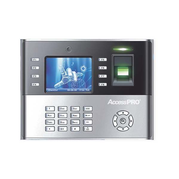 Fingerprint and Proximity IP Reader with Keypad and Multimedia Screen ICLOCK-990 ZKTECO - ACCESSPRO - POS OF AMERICA