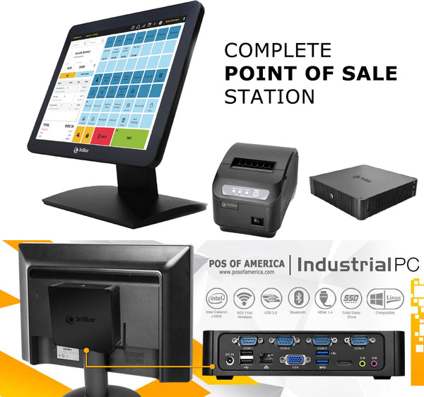 3nStar Complete Point of Sale Station - POS OF AMERICA
