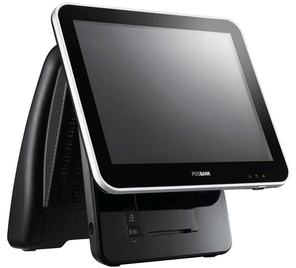 "Imprex Prime (J1900) 15"" All-in-one Touch Computer Intel Celeron J1900 Quad-Core Processor (2.0 GHz), 64GB SSD, 4GB RAM, 15"" PCAP Touchscreen, includes MSR and integrated Thermal Printer. Windows 10 - POS OF AMERICA"