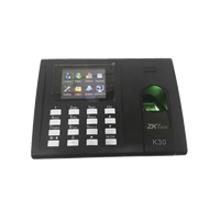 Fingerprint Reader and proximity card reader / TCP-IP Time Attendance and Basic options for Access Control / Relay Output for Electric Lock K-30 ZKTECO - POS OF AMERICA