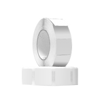 3nStar RF White Label 40*40mm (Box of 20 Rolls of 1000 Labels) (LAB001) - POS OF AMERICA