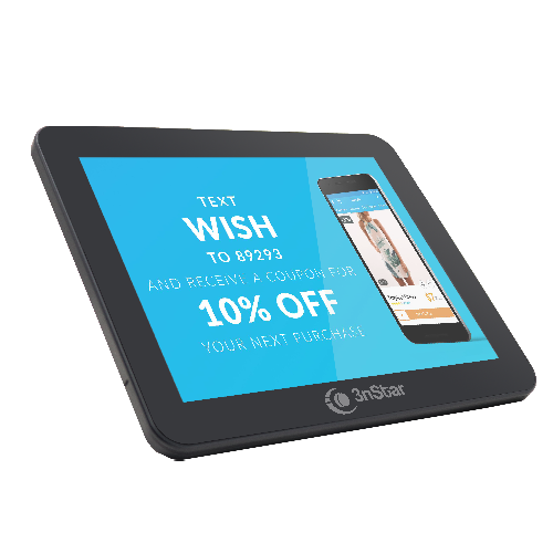 "3nStar 9.7"" Customer LCD Display for PTE0105 & PTE0205 ( PTE0105-M10 ) - POS OF AMERICA"