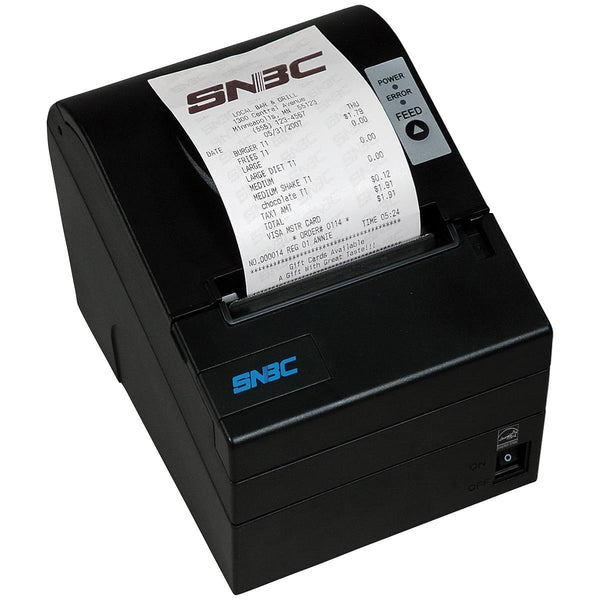 SNBC POS Thermal Printer BTP-R880NPV Black  - POS OF AMERICA