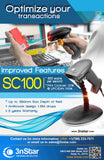 3nStar 1D Handheld Barcode Scanner (SC100) - POS OF AMERICA