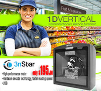 3nStar 1D Vertical Omni-directional Scanner (SC250) - POS OF AMERICA