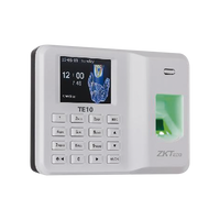 Fingerprint Reader with Keypad for Assistance Control, 500 Users, Generates Excel Reports TE10 ZKTECO - POS OF AMERICA