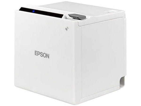 EPSON, TM-M30, THERMAL RECEIPT PRINTER, AUTOCUTTER, USB, ETHERNET, EPSON WHITE C31CE95021 - POS OF AMERICA