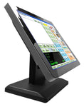 3nStar 15″ Led Touch Screen Monitor Free Bezel 10 Points Capacitive (TCM010) - POS OF AMERICA