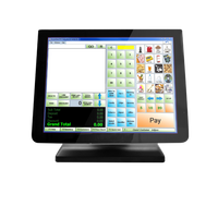3nStar 15″ Resistive Touch Screen Monitor Bezel Free  (TRM010) - POS OF AMERICA