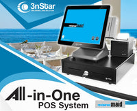 Maid Restaurant 3nStar Touch Screen Computer All-in-One Printer - POS OF AMERICA