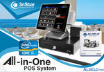 Aldelo 3nStar POS Bundle i5 8GB 240GB SSD Touchcomputer Windows 10 - POS OF AMERICA