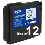 BOX OF 12 Genuine Epson C33S020580 SJMB3500 Maintenance Box for TM-C3500 C33S020580 - POS OF AMERICA