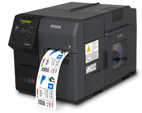 Epson TM-C7500 Color Label Printer Matte Media COLORWORKS USB ETHERNET C31CD84011 - POS OF AMERICA