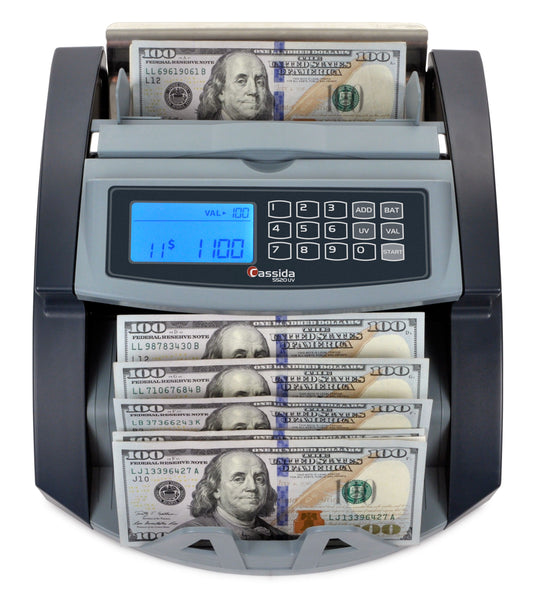 Cassida 5520 UV MG Professional Currency Counter - POS OF AMERICA
