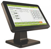 Logic Controls LE1015-J POS LCD 15in True-Flat Touch Monitor USB NEW MODEL - POS OF AMERICA