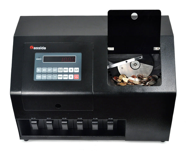 Cassida C900 Heavy Duty Coin Sorter - POS OF AMERICA