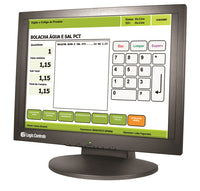 "Logic Controls 17"" Touch Screen LE1017 - POS OF AMERICA"