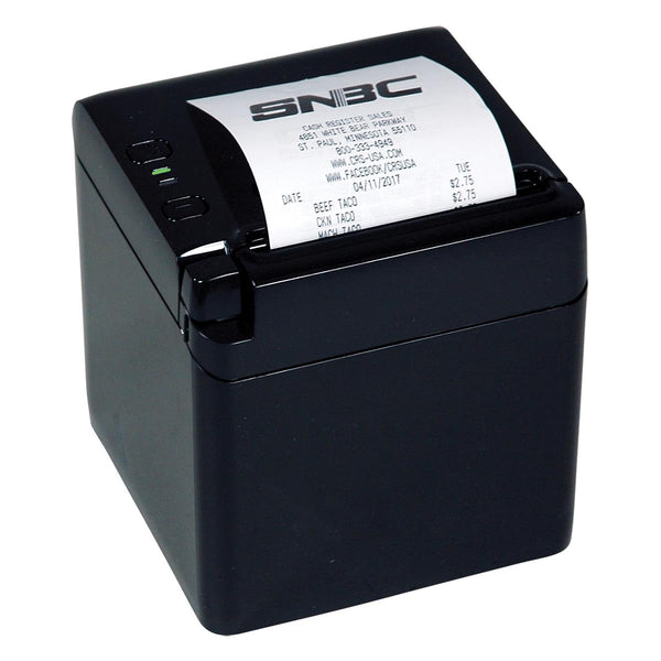 SNBC BTP-S80 Thermal Printer - Black Cabinet (USB/Serial/Ethernet) - POS OF AMERICA
