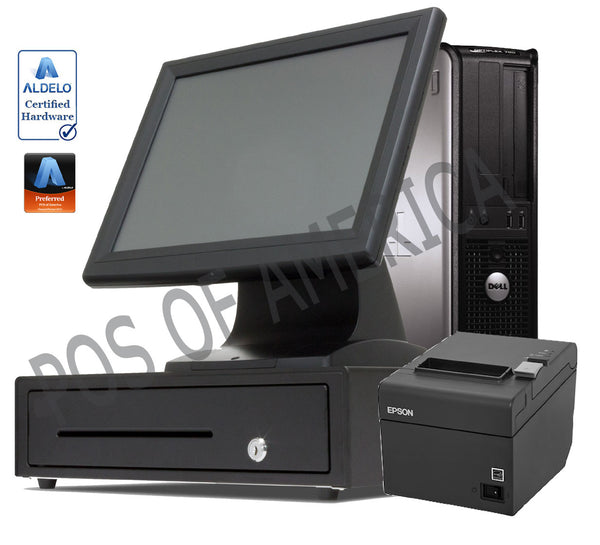 Complete Station PRO BAR Restaurant POS Value Touch System for Aldelo - POS OF AMERICA