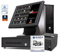 Aldelo PRO BAR Restaurant POS Value Touch System - 1 Station - POS OF AMERICA