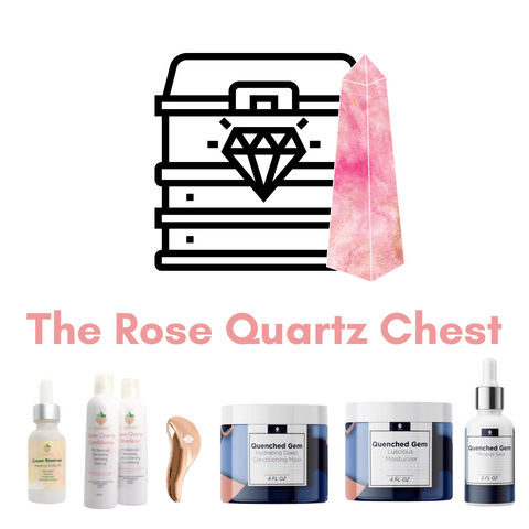 The Rose Quartz Hair Chest
