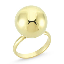 Load image into Gallery viewer, BAUBLE RING YELLOW GOLD