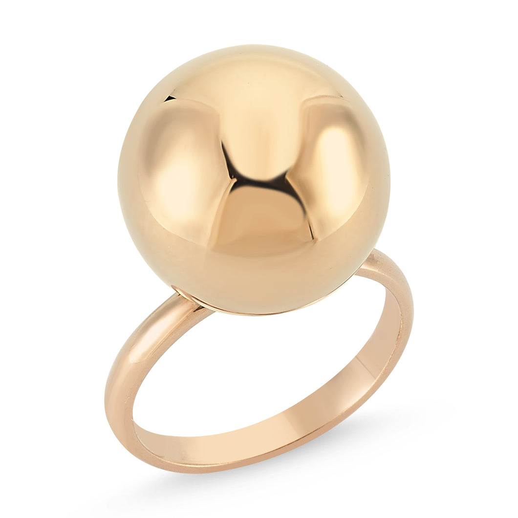 BAUBLE RING ROSE GOLD