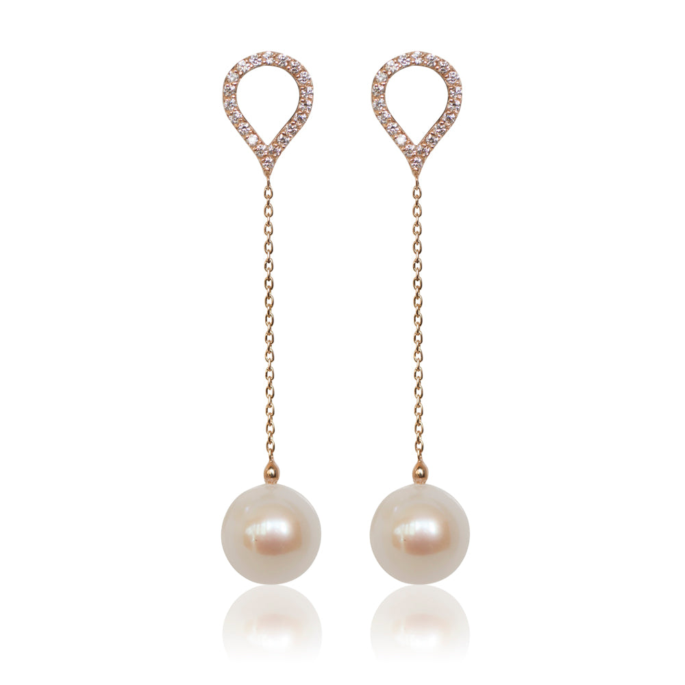 PEARL WATERDROP EARRINGS