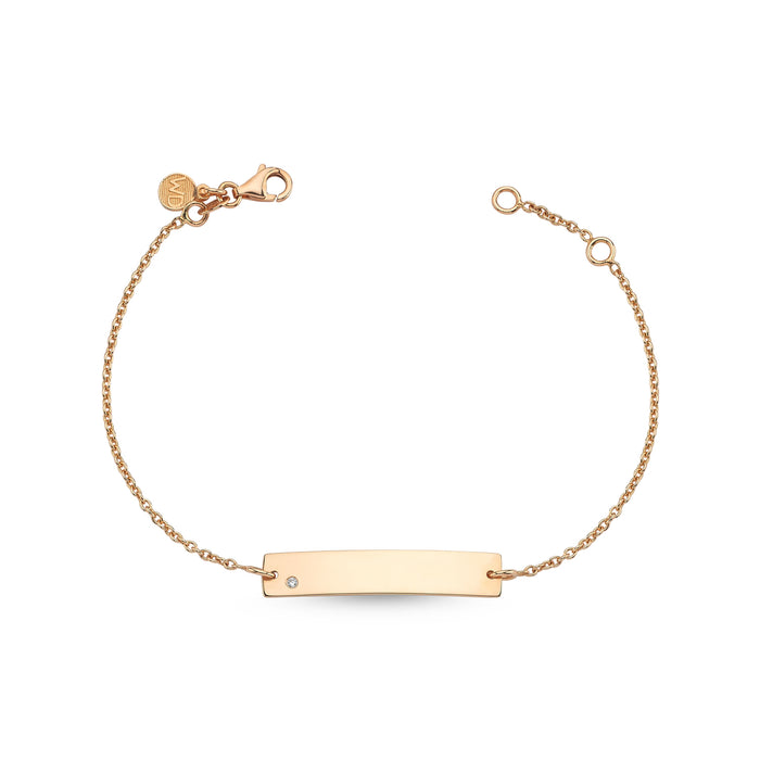 BAR PLATE MOMMY BRACELET