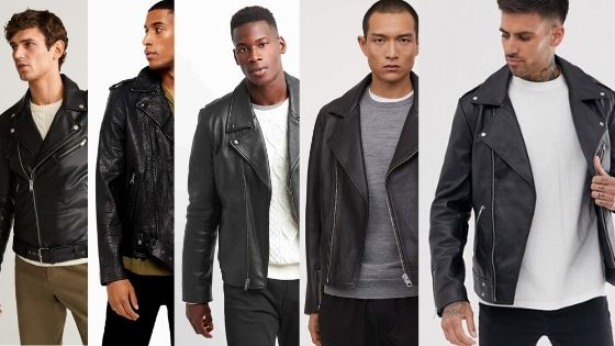 Top 5 fast fashion leather biker jackets for men in 2020