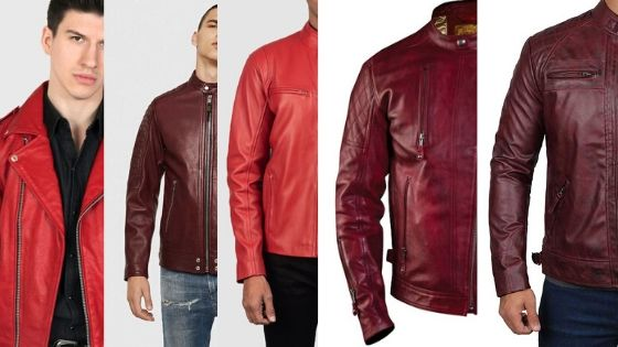 Top 5 Affordable Red Leather Jackets for Men in 2020