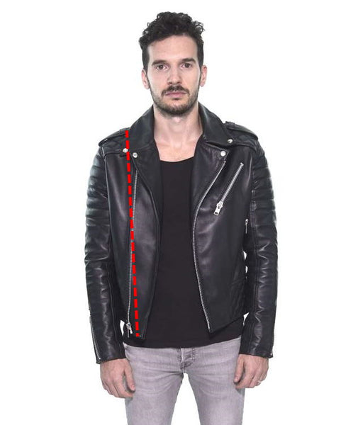 Length of the Biker Leather Jacket