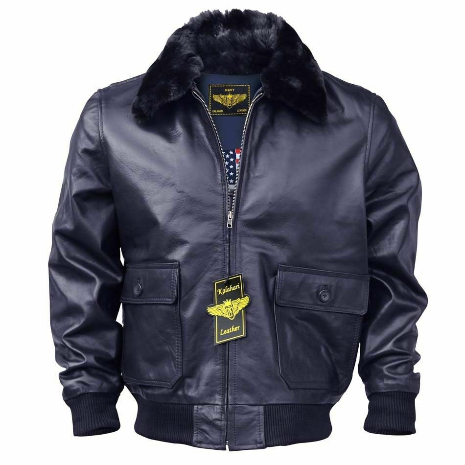 WW2 Leather Bomber Jacket