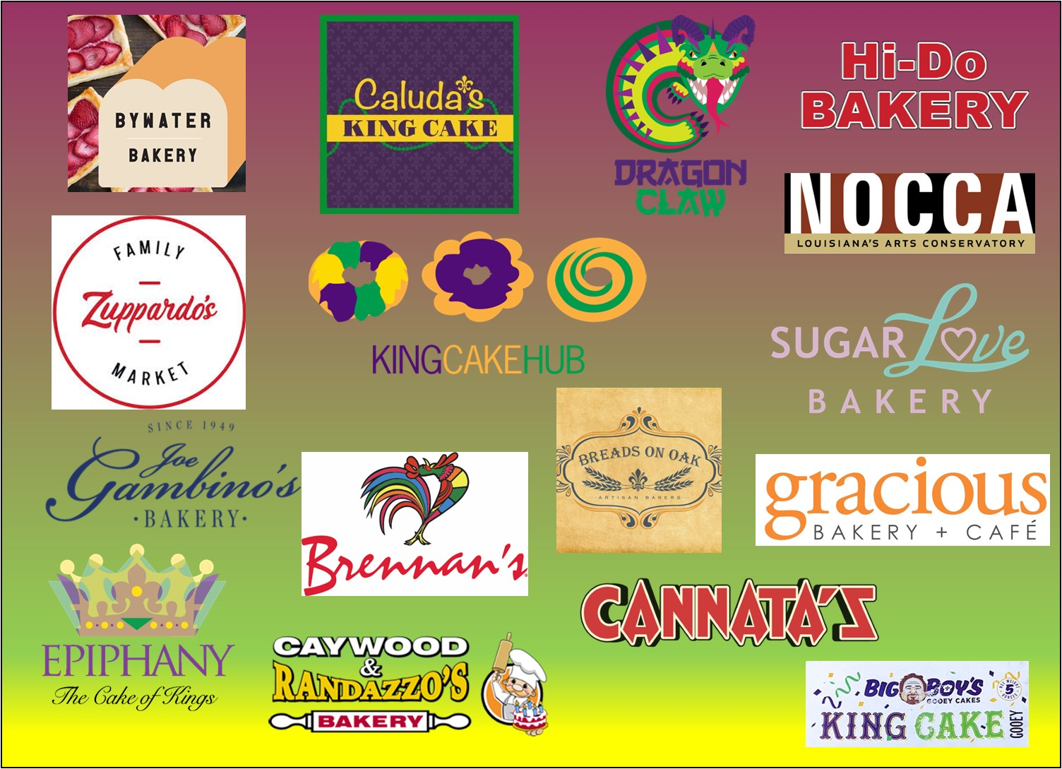 PRESS RELEASE: King Cake Hub's Season Three in a new Location!