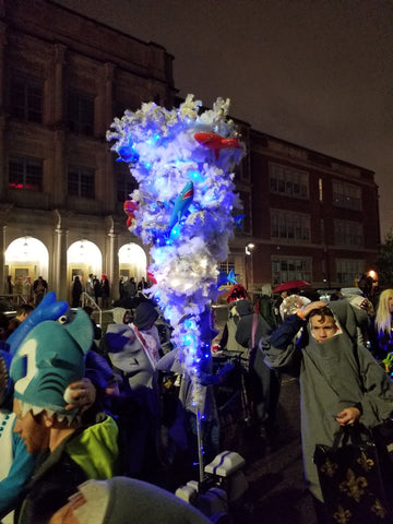 The Krewe of Sharknadeaux Lights up Chewbacchus